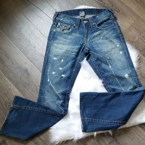 True Religion Joey Distressed Jeans
